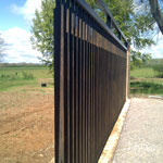 Corten Steel Screen